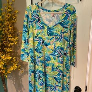 Lilly Pulitzer Marlowe Cotton in Island Time Md
